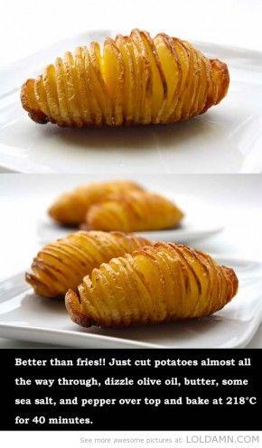 Moederdag recepten: De eenvoudige gebakken aardappel