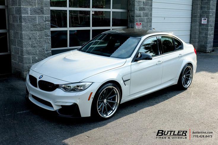 BMW M3 with 20in Vossen VWS1 Wheels