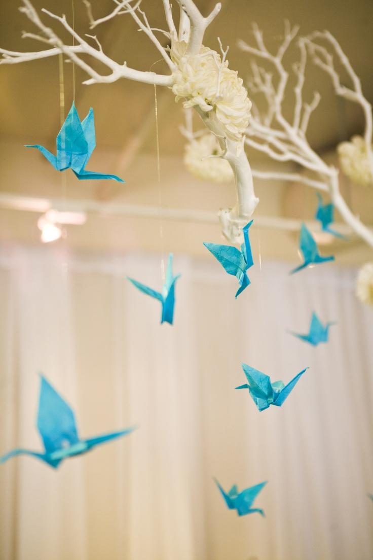 фотосессия с бумажными птицами каждой блесны тщательно