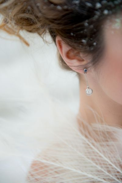Une mariée transformée en Reine des Glaces avec ce shooting d'inspiration givré Image: 15