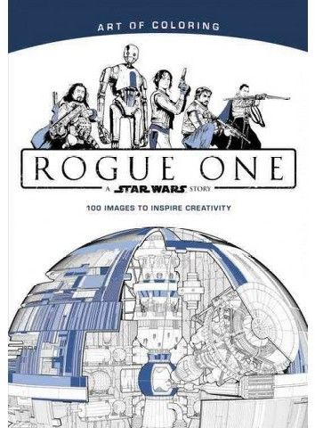 Star Wars Rogue One Adult Coloring Book : A Star Wars Story (Paperback)