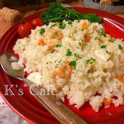 フライパンdeお急ぎ!シーフードピラフ♡炊飯器でも。 by K's Cafeさん ...