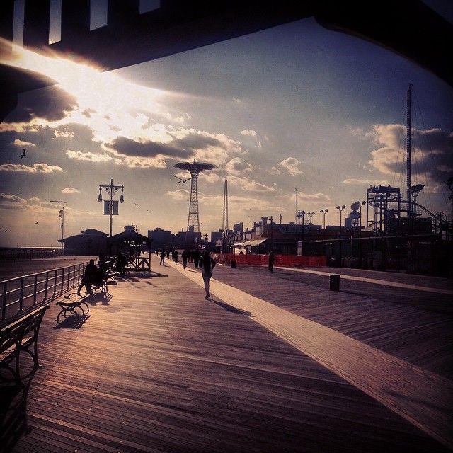 Coney Island in Brooklyn, NY