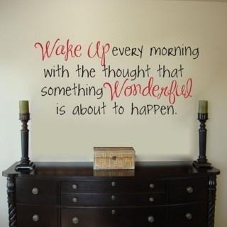 #WakeUp Wonderful Life Thought