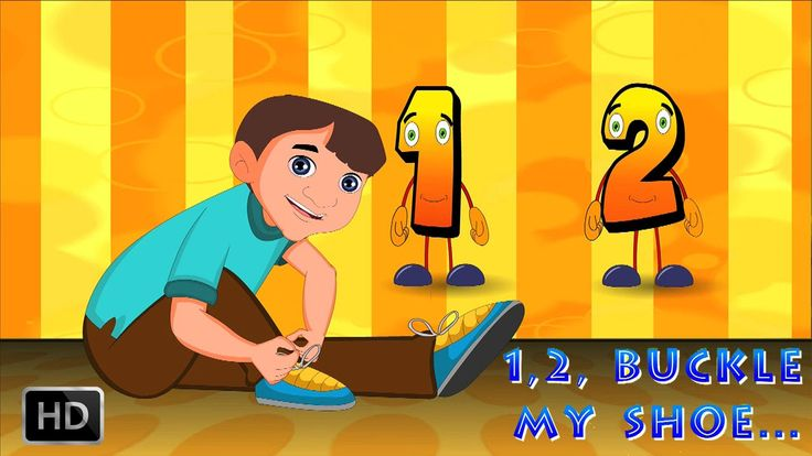 One Two Buckle My Shoe - English Rhymes for Kids | Geethanjali Videos
