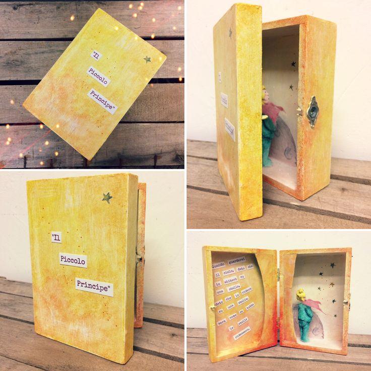 """""""Il Piccolo Principe""""/ """"The Little Prince"""" #ilpiccoloprincipe #thelittleprince #lescatolemagiche #magicboxes"""