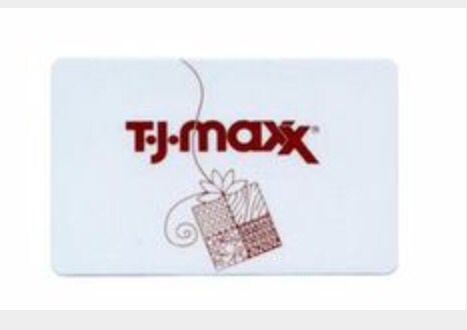 If you don't know what to get me or rather me choose something then tjmaxx gift card is the way to go  I can't go wrong with a tj max gift card