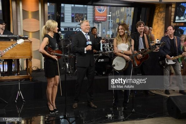Court Yard Hounds perform live on 'Good Morning America,' 7/17/13, airing on the ABC Television Network. ROBINSON