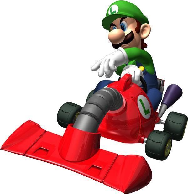 Luigi In Mariokart Ds 2 All About Mariokartds Http Www Superluigibros Com Mario Kart Ds Mario Kart Ds Mario Kart Mario