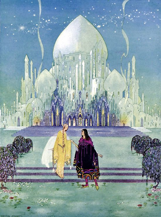 Virginia Frances Sterrett - They Walked Side By Side, from Old French Fairy Tales