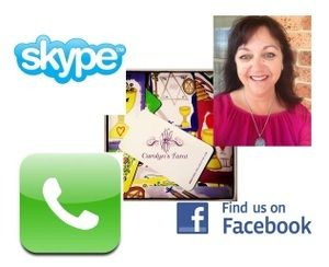 WORLD WIDE - Availability Covers all aspects of you life including relationships, career, finances, health and well being along with your home and family. You may choose to purchase as a SKYPE or FB CAM Chat , VIBER or PHONE delivery. www.carolynclairvoyant.bigcartel.com