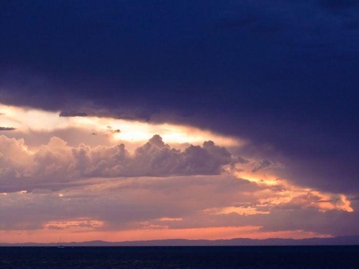 Sunset at Moreton Bay, Brisbane http://maloufdental.com.au/