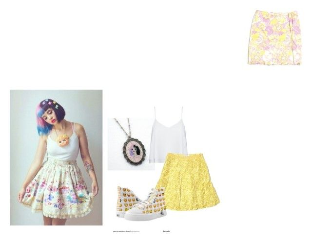 """Melanie Martinez"" by mloperamarin on Polyvore featuring moda, Dollhouse, Alice + Olivia, TIBI, Banana Republic, women's clothing, women's fashion, women, female y woman"