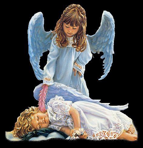 Por Dentro... em Rosa: Os anjos existem e nos protegem !
