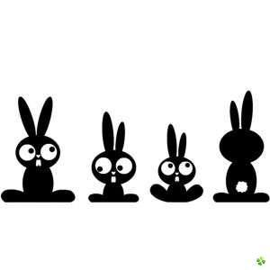 konijn stencil