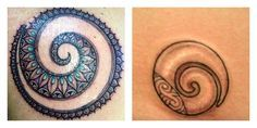 Tatuaggi con Significato di Rinascita e Cambiamento: Fenice, Scarabeo e Koru - Lei Trendy