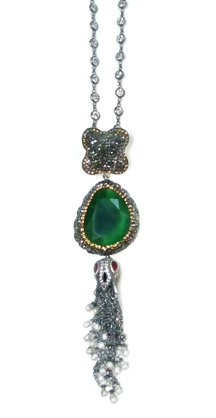 Sadivas Jewels, Silent Whisperer Collection, Long Neckalces, Affordable Luxury Jewellery, Semi-Precious Necklaces, Statement Necklaces, Silver Chain, Tassel Necklace, Delicate