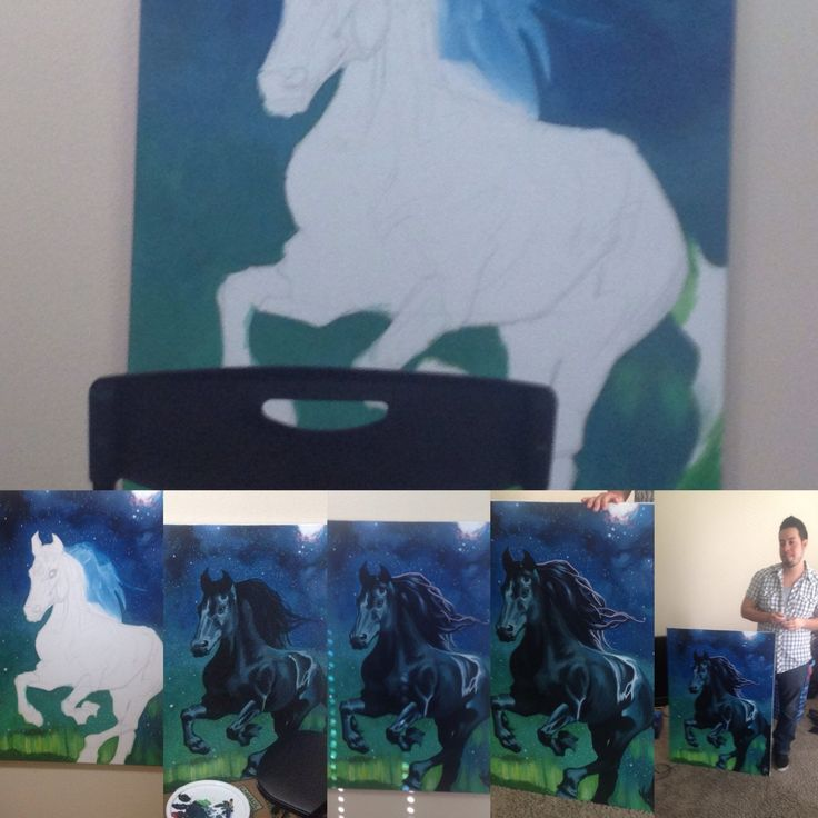 Stallion painting start to finish