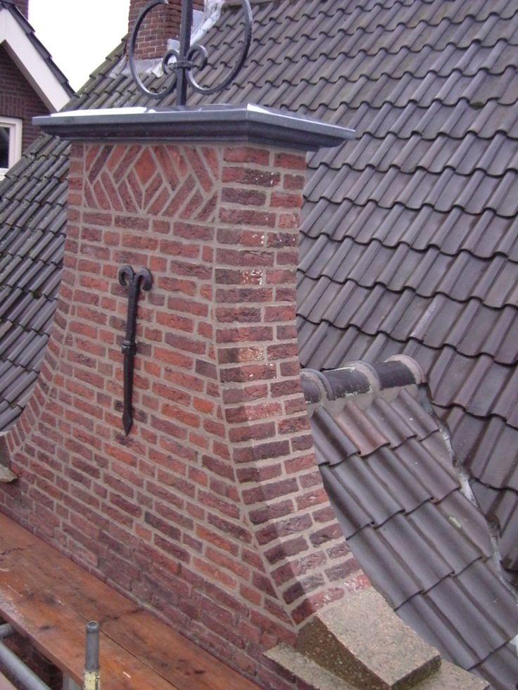 restauratie halsgevel met achterliggend dak