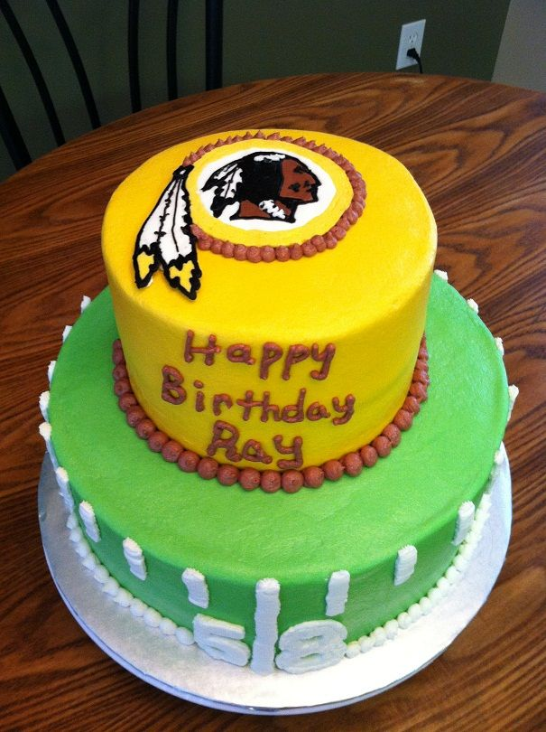 1000 Ideas About Redskins Cake On Pinterest Detroit