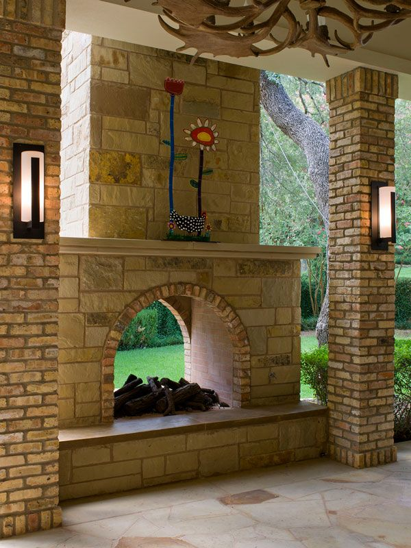 2 Sided Outdoor Fireplace Google Search In 2019