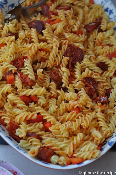 Chorizo Pasta Supper Dish