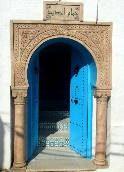 Tunisie Cote Terre Zaghouan La Porte Du Hammam Jdid Tunisia In