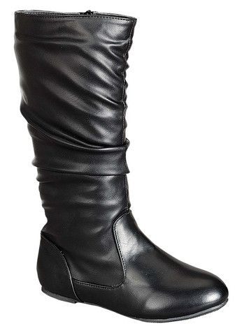 QQ Girl Bella Slouch Boot in Black