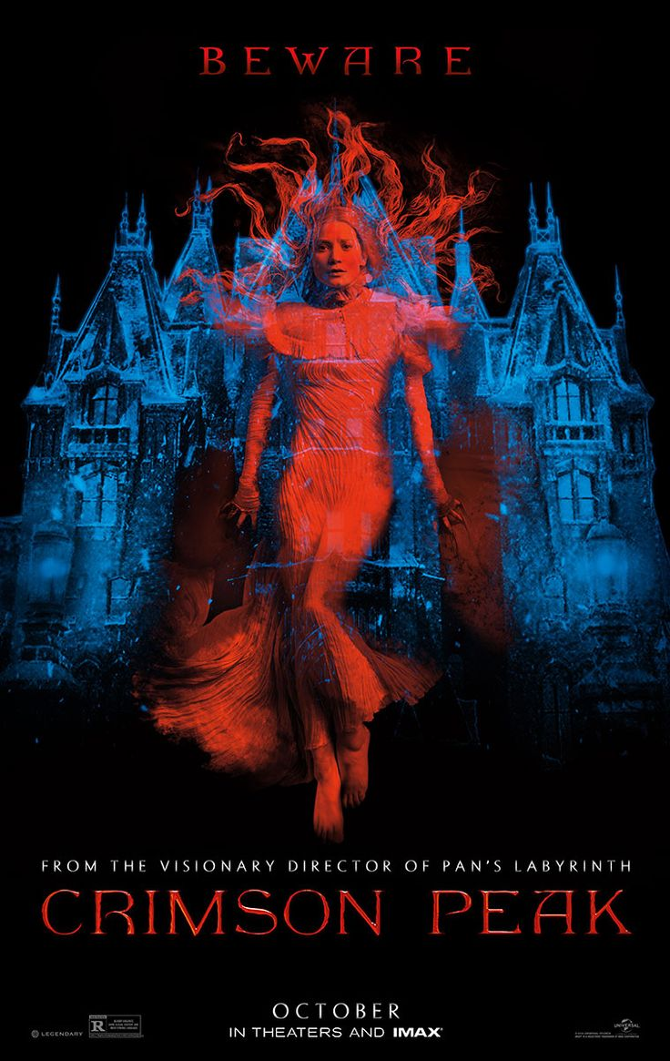 Tom Hiddleston and Charlie Hunnam Star in the Haunting Crimson Peak Trailer
