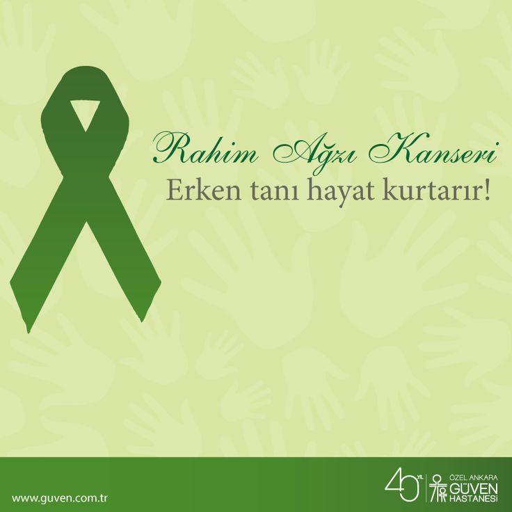 Rahim ağzı kanseri hakkında bilinmesi gerekenler. http://www.guven.com.tr/haber_detay.php?a=rahim-agzi-kanseri