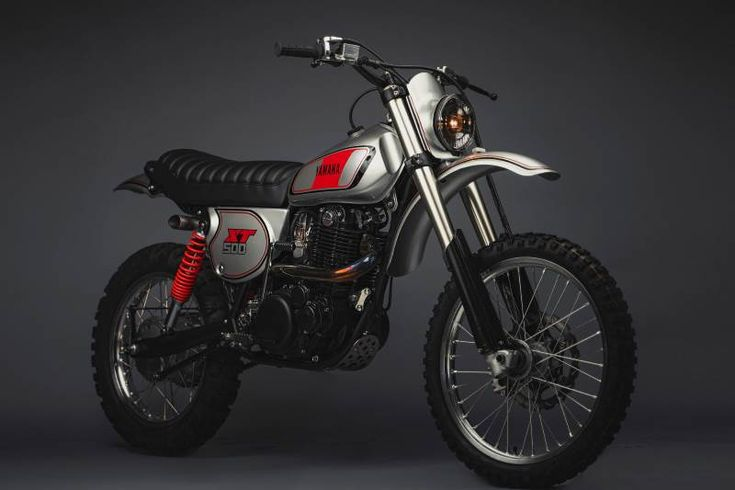 Yamaha XT500 Restomod von MotoRelic #yamaha # xt500 #restomod #bike #custom #moto …   – privat christian