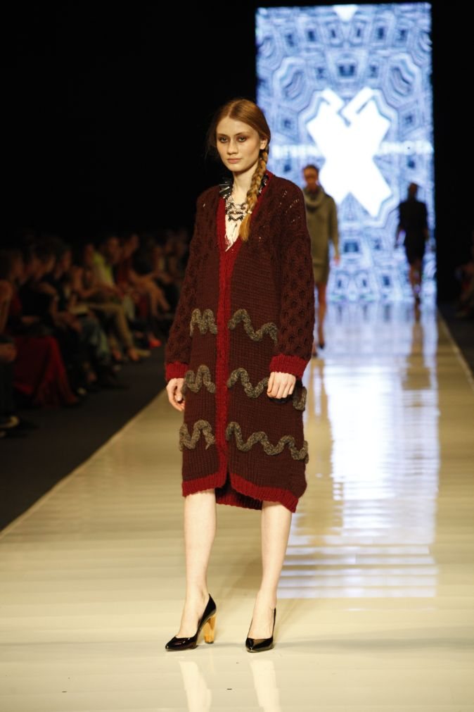 BERENIKA CZARNOTA, Fall - Winter 2013 / 2014, Designer Avenue, 8. FashionPhilosophy Fashion Week Poland, fot. Katarzyna Ułańska #czarnota #berenikaczarnota #fashionweek #lodz #fall2013 #winter2013 #fw13 #aw13 #designeravenue #fashioninspirations #trends #fashiondesigners #polishdesigners #fashion #fashionweekpl #fashionweekpoland #fashionphilosophy