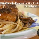 Chicken Marsala with Brown Butter PastaChicken marsala is an Italian American dish made from chicken cutlets, mushrooms, and Marsala wine. The dish dates back to the 19th century, when it most likely originated with English families who lived in the western Sicily region, where Marsala wine is produced. The chicken ...