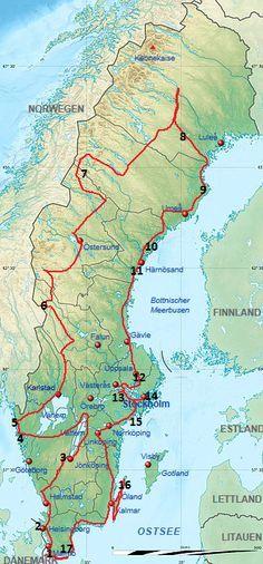Reisebericht Schweden