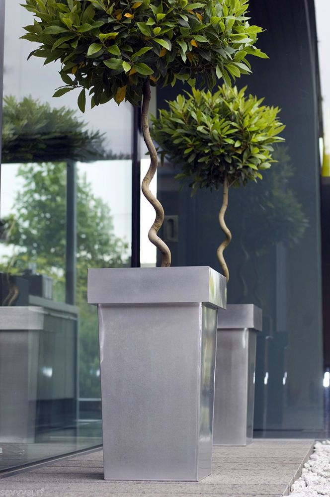 Best 25 Contemporary Planters Ideas On Pinterest