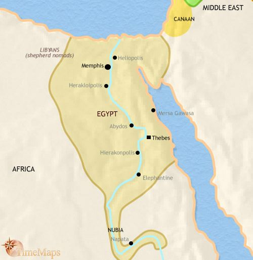 Ancient Egypt Interactive animated history map with questions and activities from