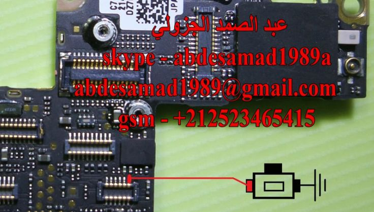 iPhone 4S Power On Off Key Button Switch Jumper Ways
