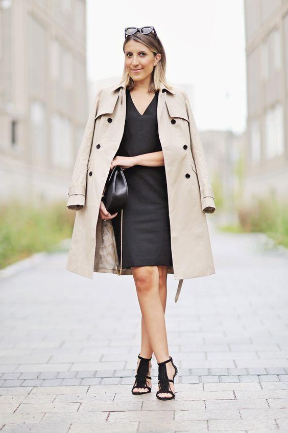 best 20 schwarzes kleid kombinieren ideas on pinterest schwarzer mantel outfit schwarze. Black Bedroom Furniture Sets. Home Design Ideas