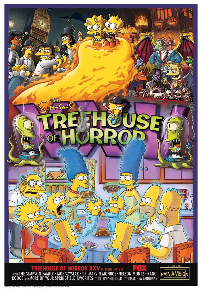 The Simpsons Treehouse of Horror Giclee Prints