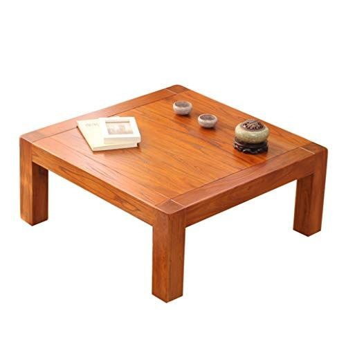 Solid Wood Coffee Table Simple Wooden Table Home Square Table