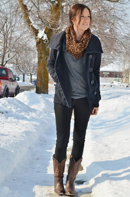 1000  images about winter on Pinterest   Vests Brown boots and