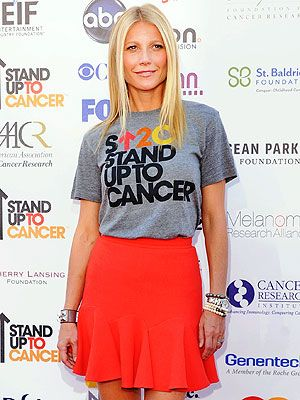 Stand Up to Cancer: Gwyneth Paltrow Talks About Late Dad Bruce Paltrow : People.com