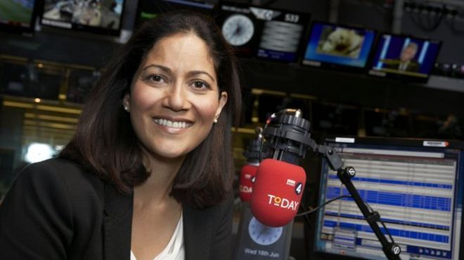 Murray Edwards alumna Mishal Husain named broadcaster of the year 2015.