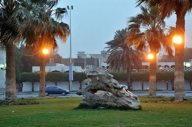 Khobar Waterfront, Dammam, Saudi Arabia  On the Persian Gulf