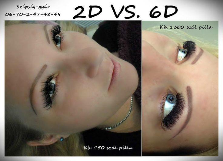 2D VS. 6D volume :)