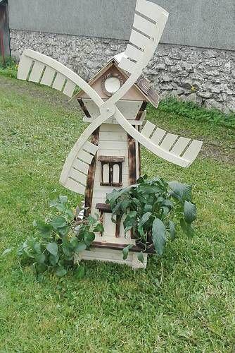 záhradný veterný mlyn #zahrada #handmade #drevo #garden