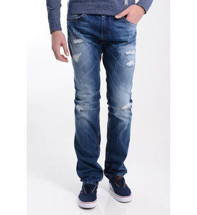 Soldes Jeans Galeries Lafayette, achat Jeans Kaporal Broz slim fit Kaporal Bleu pour Homme prix Soldes Galeries Lafayette 50.40 € TTC au lie...