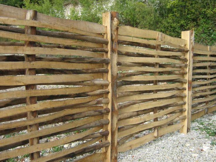 Afbeeldingsresultaat voor hek kastanjehout