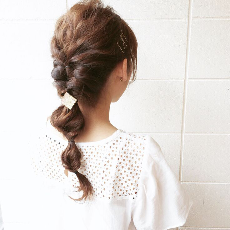 おしゃれ上級者はアクセ使いで魅せて☆ぽこぽこヘアスタイル!参考にしたいカット・アレンジ・髪型☆