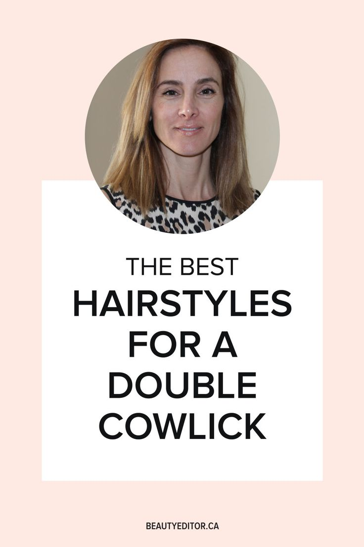 how to stop a cowlick